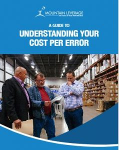 a guide to understanding your cost per error